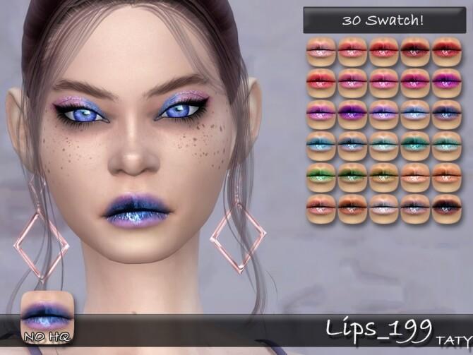 Lips 199 by tatygagg at TSR image 2933 670x503 Sims 4 Updates