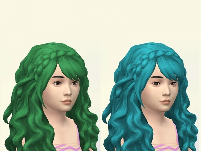 Erica hair recolors for kids and toddlers by Delise at Sims Artists image 300 670x503 Sims 4 Updates