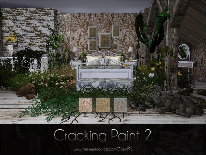 Cracking Paint 2 by Caroll91 at TSR image 3020 670x503 Sims 4 Updates