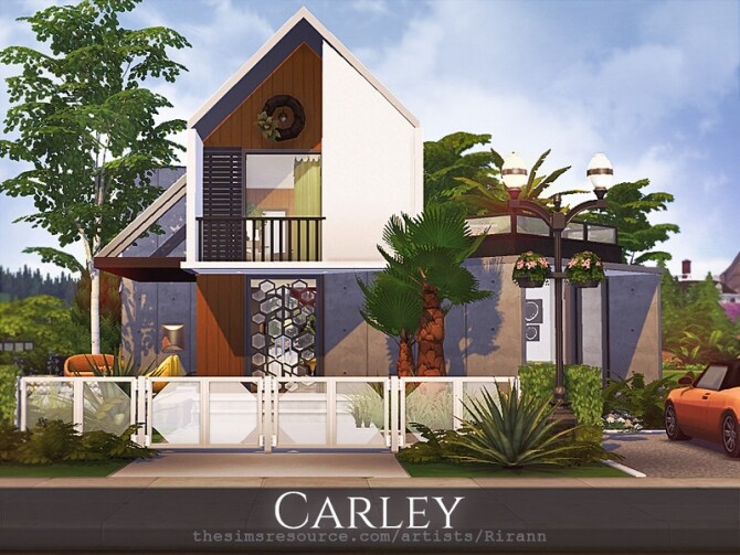 Carley modern house by Rirann at TSR image 3028 670x503 Sims 4 Updates