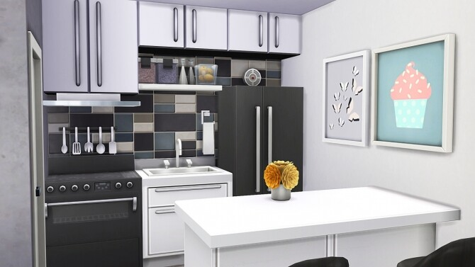 Sims 4 IKEA APARTMENT at Aveline Sims