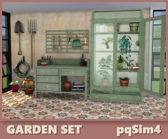 Garden Set at pqSims4 image 305 Sims 4 Updates