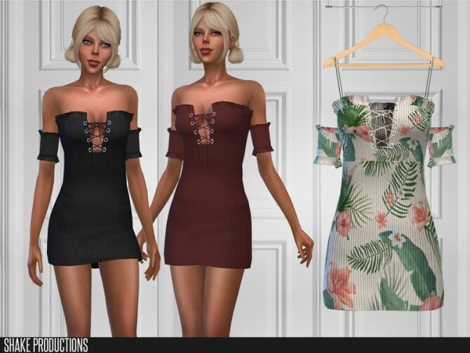 Sims 4 429 Dress by ShakeProductions at TSR