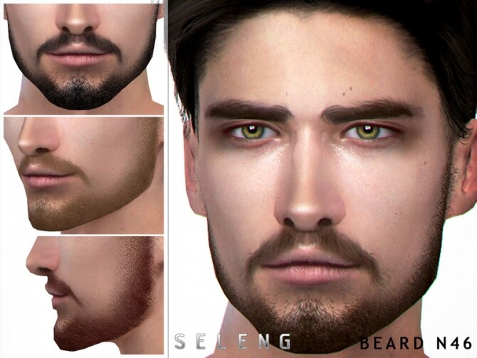 Sims 4 Beard N46 by Seleng at TSR