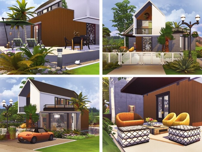 Carley modern house by Rirann at TSR image 3127 670x503 Sims 4 Updates