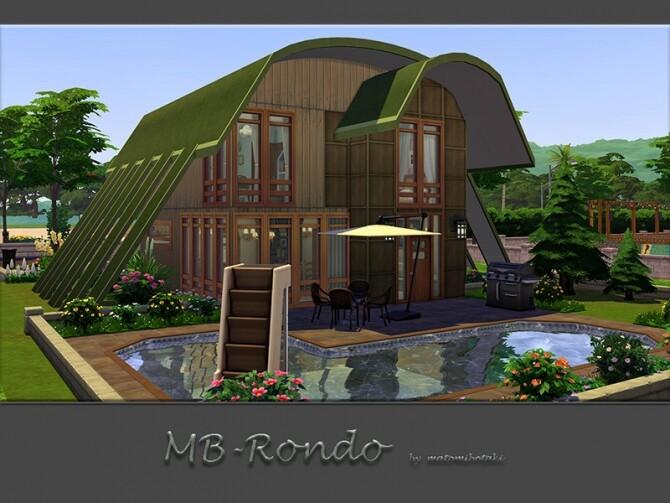 MB Rondo home by matomibotaki at TSR image 3128 670x503 Sims 4 Updates