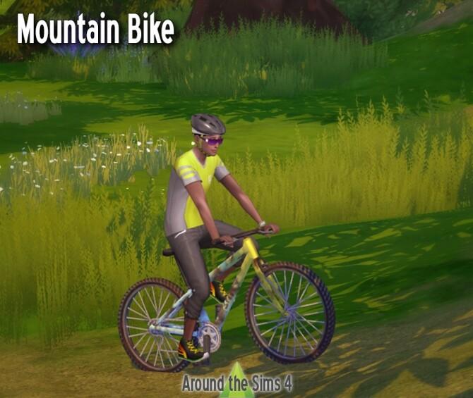 Sims 4 Mountain bike & helmet at Around the Sims 4