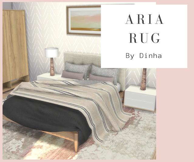 Sims 4 Aria Rug at Dinha Gamer