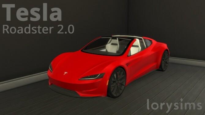 Tesla Roadster 2.0 at LorySims image 3181 670x377 Sims 4 Updates