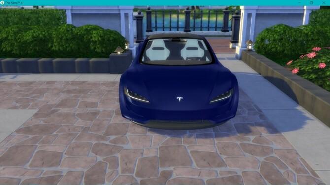 Tesla Roadster 2.0 at LorySims image 3191 670x377 Sims 4 Updates