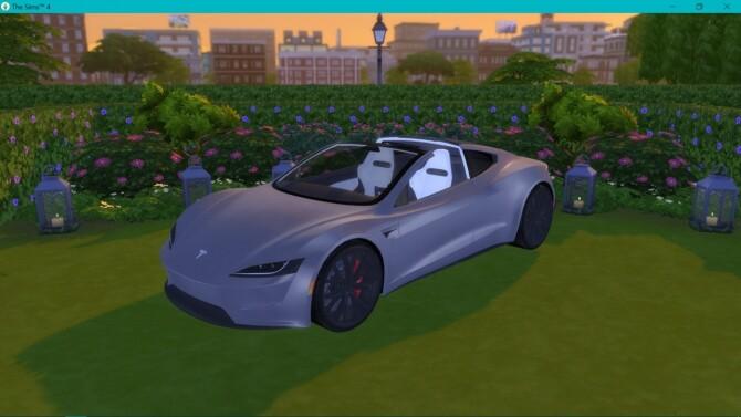 Tesla Roadster 2.0 at LorySims image 3201 670x377 Sims 4 Updates