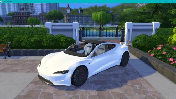 Tesla Roadster 2.0 at LorySims image 3211 670x377 Sims 4 Updates