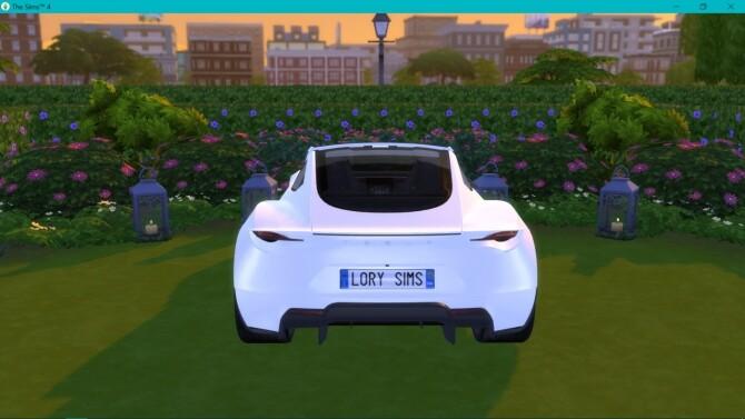 Tesla Roadster 2.0 at LorySims image 3221 670x377 Sims 4 Updates