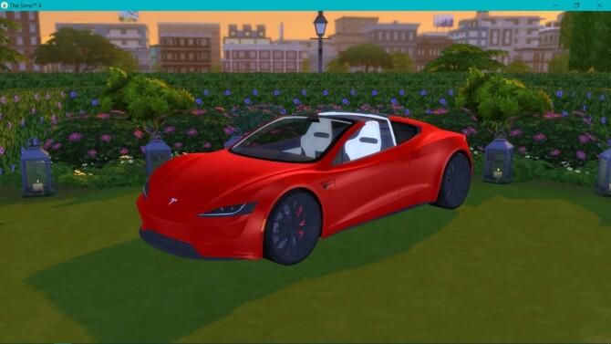 Tesla Roadster 2.0 at LorySims image 3241 670x377 Sims 4 Updates