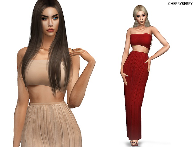 Mandevilla Dress at Cherryberry image 3242 Sims 4 Updates