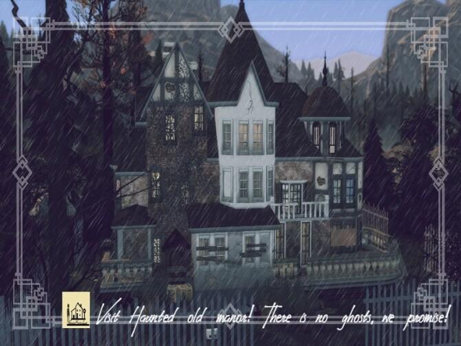 Haunted old manor NO CC by GenkaiHaretsu at TSR image 326 670x503 Sims 4 Updates