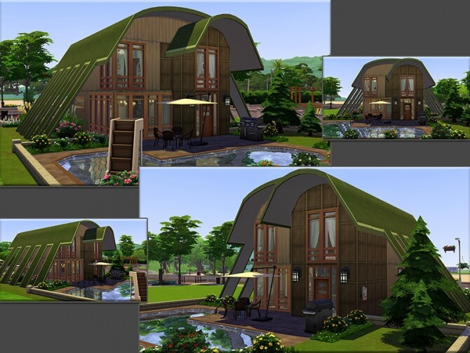 MB Rondo home by matomibotaki at TSR image 3325 670x503 Sims 4 Updates