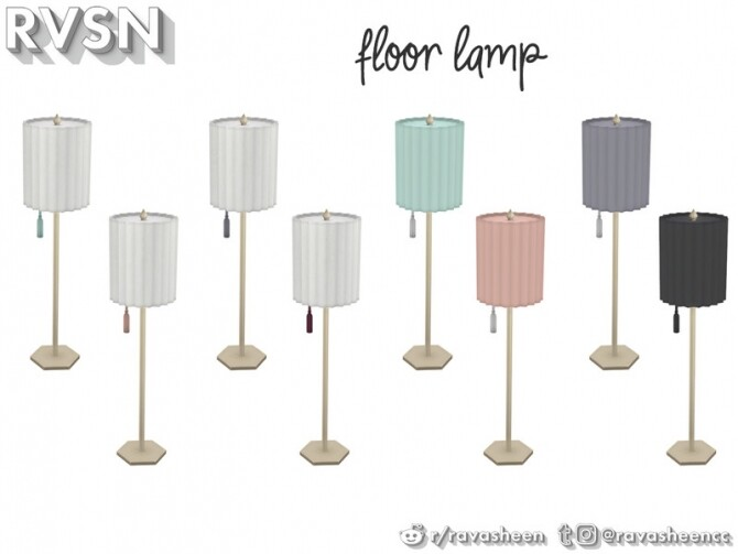 Watts Not To Love Lamp Set by RAVASHEEN at TSR image 34 670x503 Sims 4 Updates