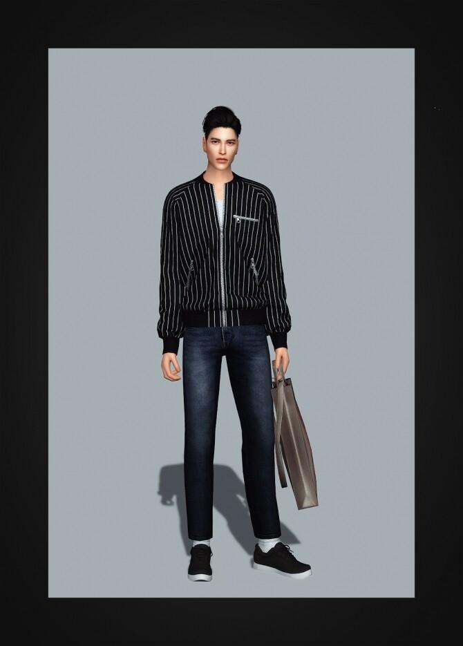 Sims 4 Raglan Jacket at Gorilla