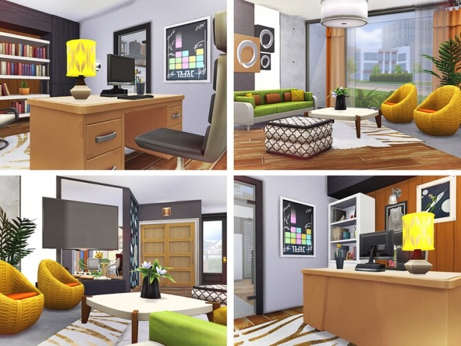 Carley modern house by Rirann at TSR image 3423 670x503 Sims 4 Updates