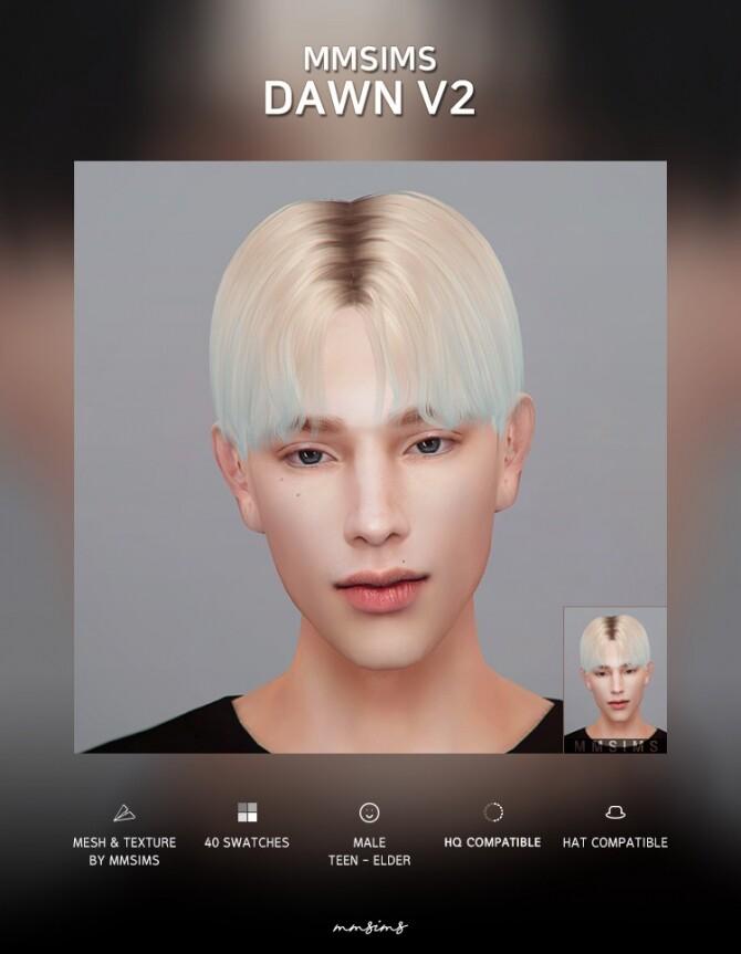 Hair Dawn v2 Remake at MMSIMS image 3431 670x863 Sims 4 Updates