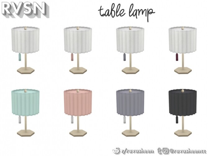 Watts Not To Love Lamp Set by RAVASHEEN at TSR image 36 670x503 Sims 4 Updates