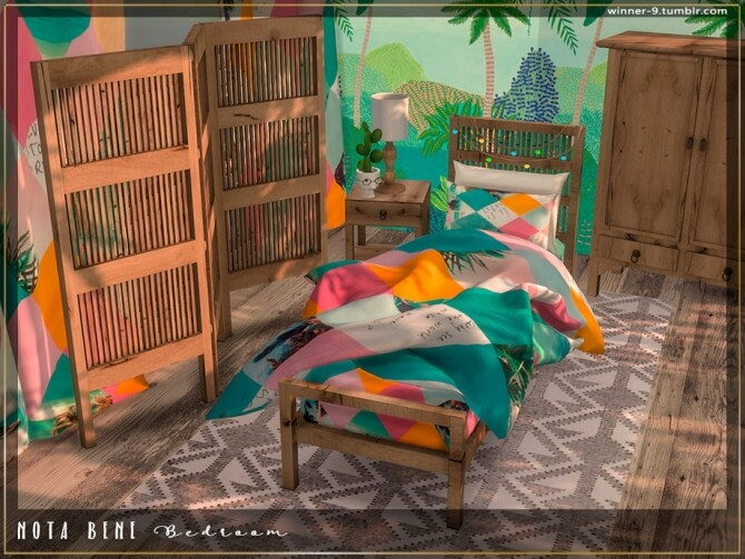 Nota bene Bedroom by Winner9 at TSR image 3622 670x503 Sims 4 Updates