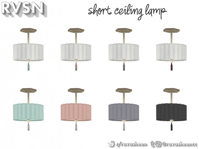 Watts Not To Love Lamp Set by RAVASHEEN at TSR image 37 670x503 Sims 4 Updates