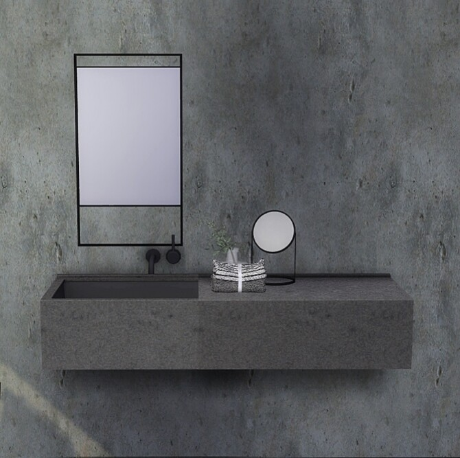Industrial mirror set at Heurrs image 3731 670x667 Sims 4 Updates