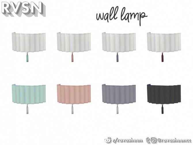 Watts Not To Love Lamp Set by RAVASHEEN at TSR image 38 670x503 Sims 4 Updates