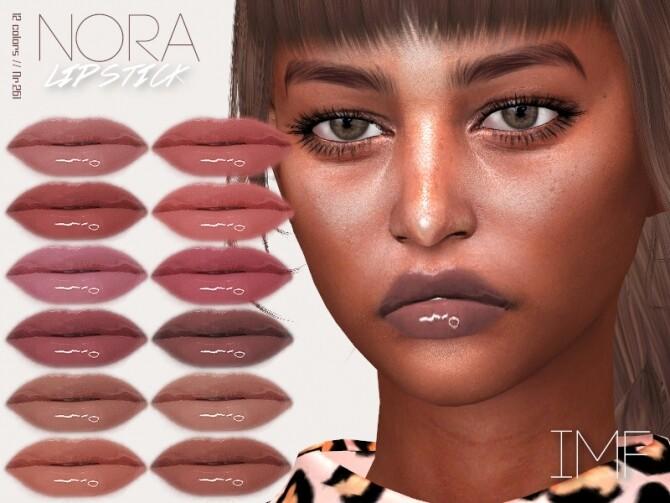 Sims 4 IMF Nora Lipstick N.261 by IzzieMcFire at TSR