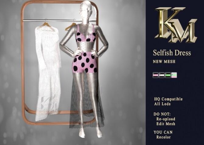 Sims 4 Selfish Dress at KM