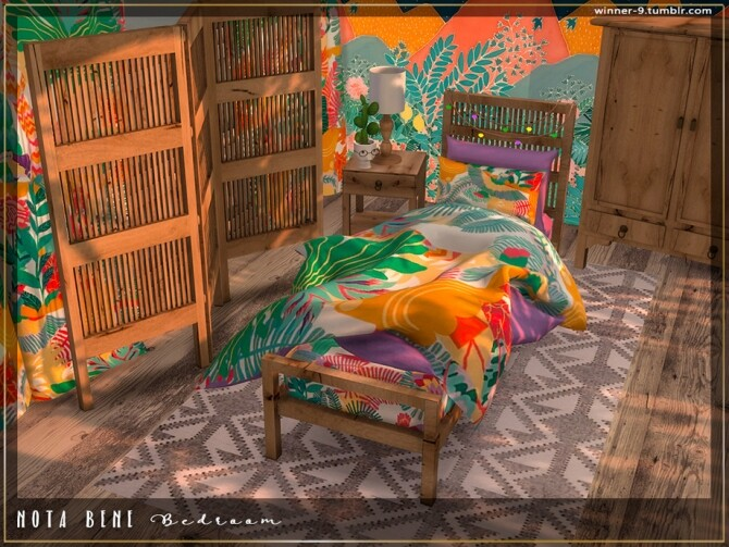 Nota bene Bedroom by Winner9 at TSR image 3822 670x503 Sims 4 Updates