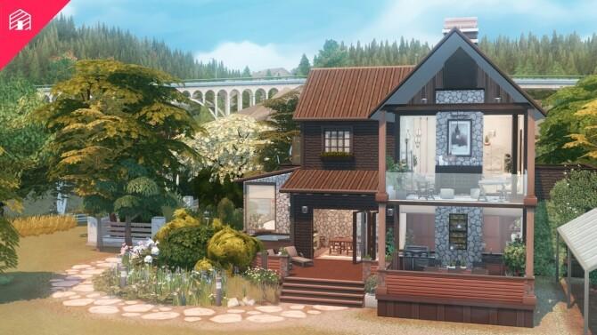 Bridgewater Farmhouse at Harrie image 3841 670x377 Sims 4 Updates