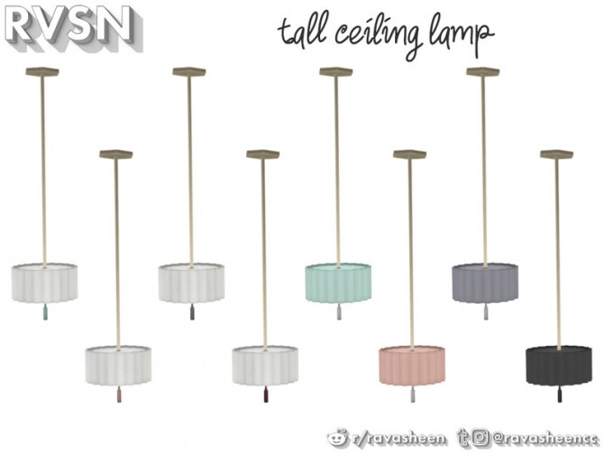 Watts Not To Love Lamp Set by RAVASHEEN at TSR image 39 670x503 Sims 4 Updates