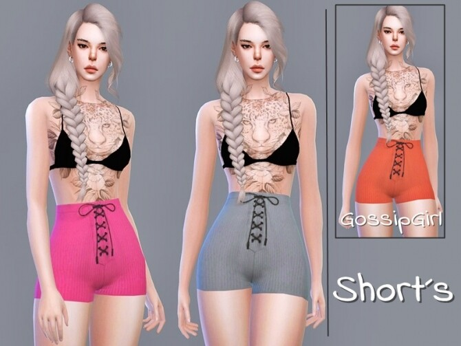 Sims 4 Shorts by GossipGirl S4 at TSR