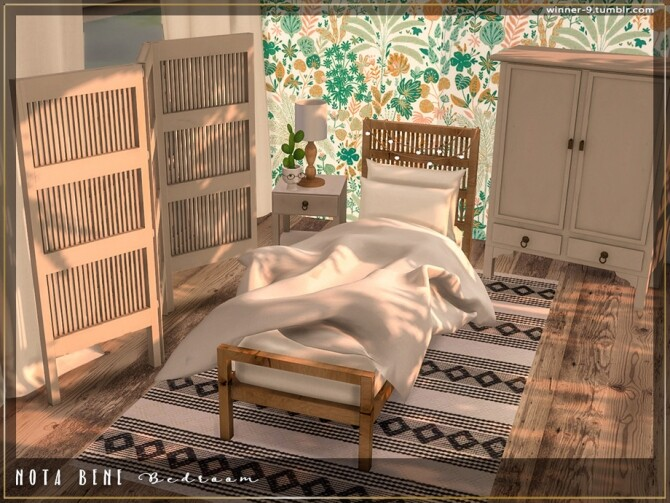 Nota bene Bedroom by Winner9 at TSR image 3922 670x503 Sims 4 Updates