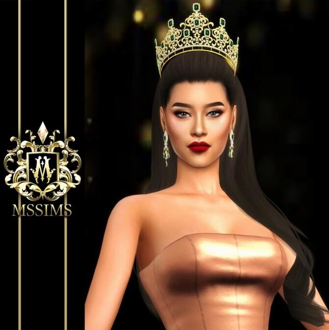Sims 4 VANIDA CROWN (P) at MSSIMS
