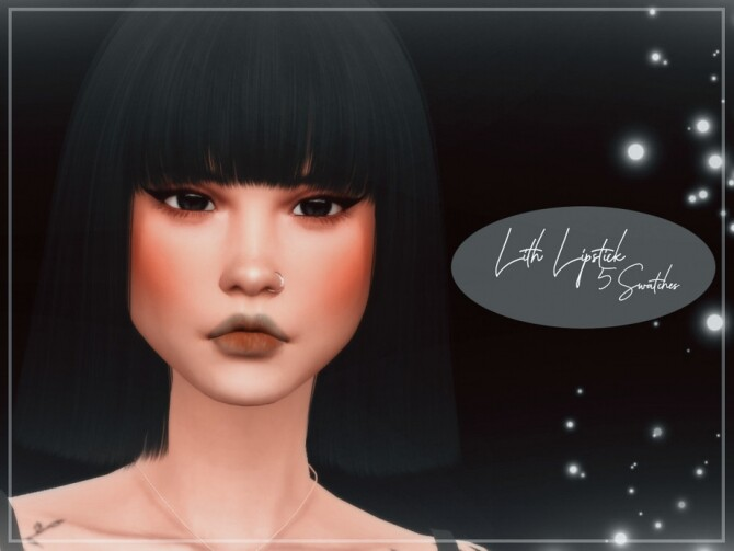 Lith Lipstick by Reevaly at TSR image 4024 670x503 Sims 4 Updates