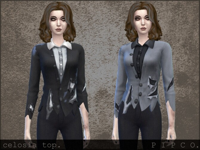 Celosia top by Pipco at TSR image 411 670x503 Sims 4 Updates