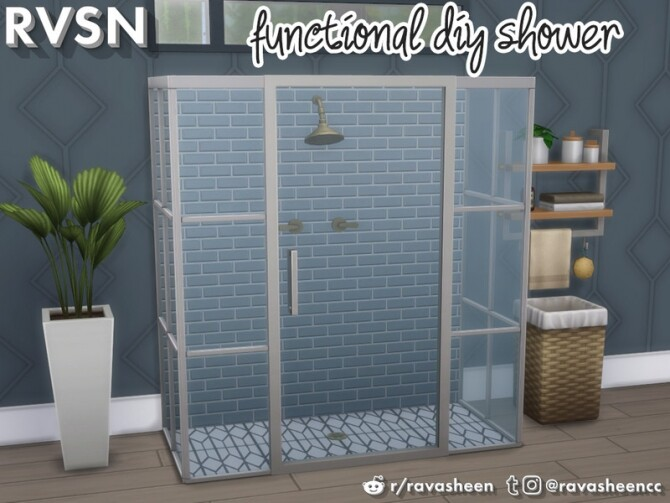 Keep It Clean DIY Shower Set by RAVASHEEN at TSR image 4111 670x503 Sims 4 Updates