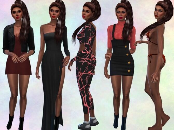 Sims 4 Raissa Dyer by divaka45 at TSR