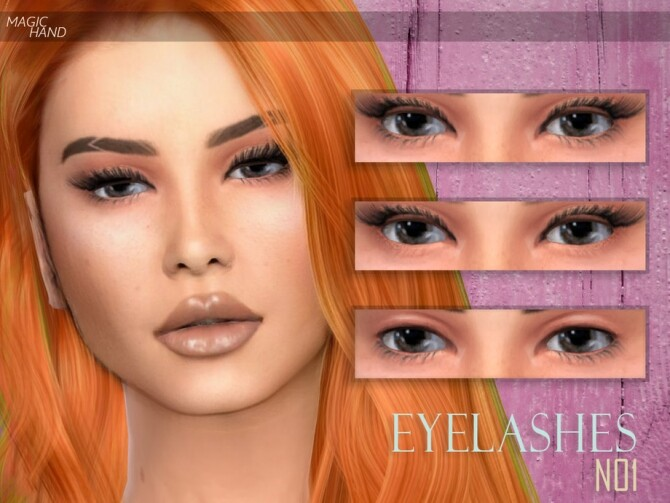 Eyelashes N01 by MagicHand at TSR image 4126 670x503 Sims 4 Updates