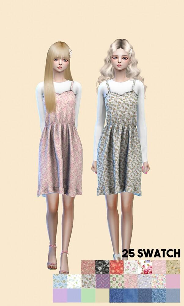 Sims 4 Spring dress at L.Sim