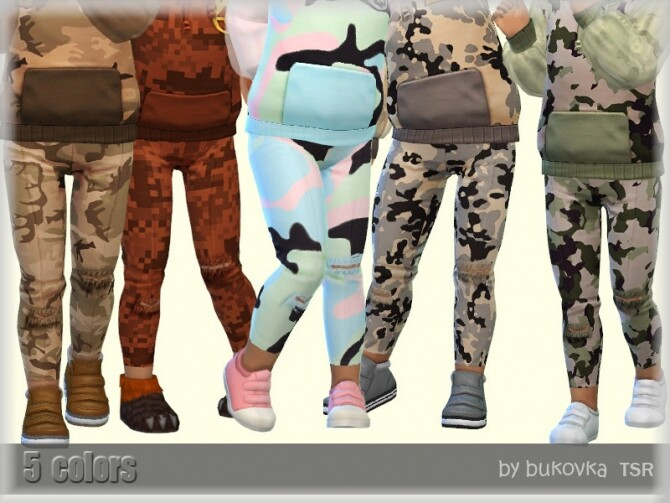 Pants Apocalypse for girls by bukovka at TSR image 4310 670x503 Sims 4 Updates