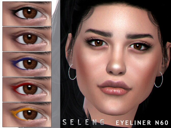 Sims 4 Eyeliner N60 by Seleng at TSR