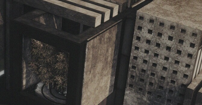 Sims 4 The Brutalist 80 items set (P) at AggressiveKitty