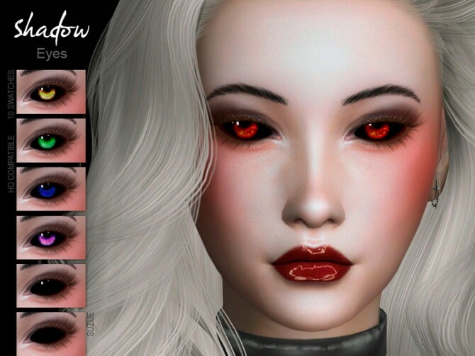Sims 4 Shadow Eyes by Suzue at TSR