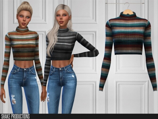 Sims 4 438 Top by ShakeProductions at TSR