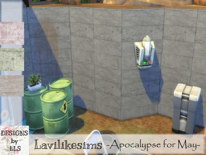 Sims 4 Dusty Planks by lavilikesims at TSR